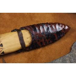Couteau à lame en obsidienne de style Basketmaker C1704