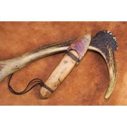 Couteau à lame en silex de style Ötzi C1610