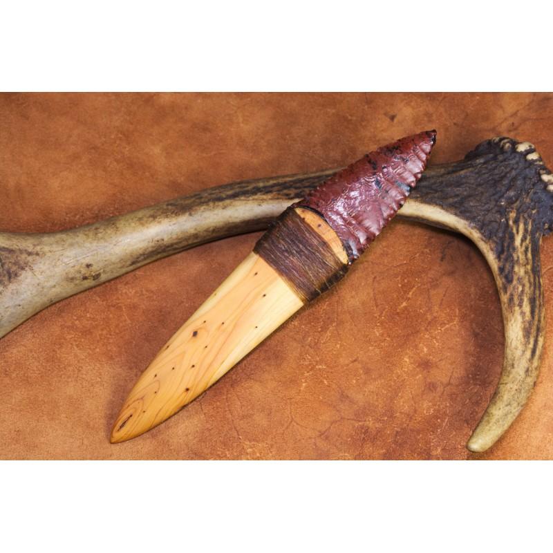 Basketmaker style obsidian blade knife C1611